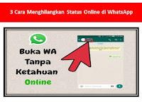 3 Cara Menghilangkan Status Online di WhatsApp