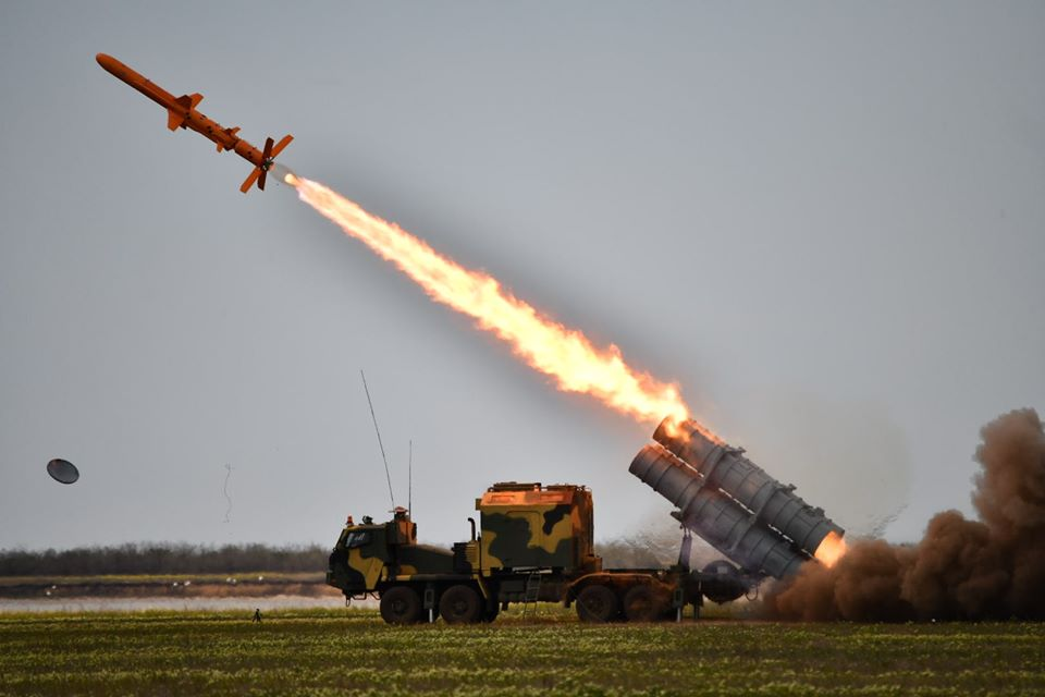 Minister of Defense of Ukraine signed an order on the adoption of the coastal missile system Neptune