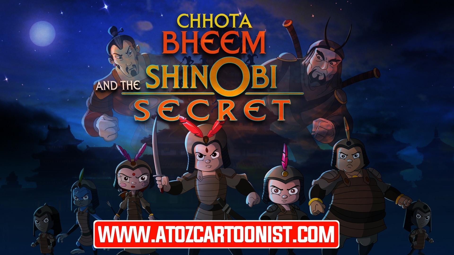 CHHOTA BHEEM AND THE SHINOBI SECRET FULL MOVIE IN HINDI & TAMIL DOWNLOAD (480P & 1080P)