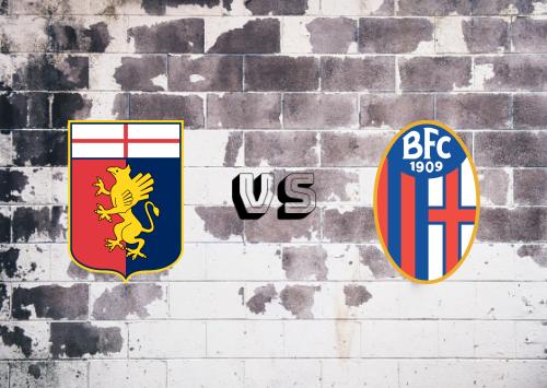 Genoa vs Bologna  Resumen