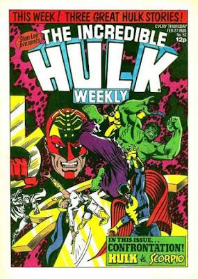 Incredible Hulk Weekly #52, Scorpio vs the Defenders