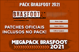 Megapack Brasfoot 2021 ( 11 patches )