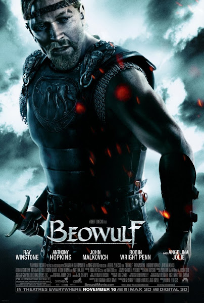 Poster of Beowulf 2007 Director's Cut 720p Hindi BRRip Dual Audio Full Movie