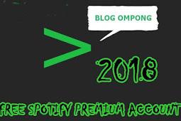 Akun Spotify Premium Gratis 2018 2019 2020
