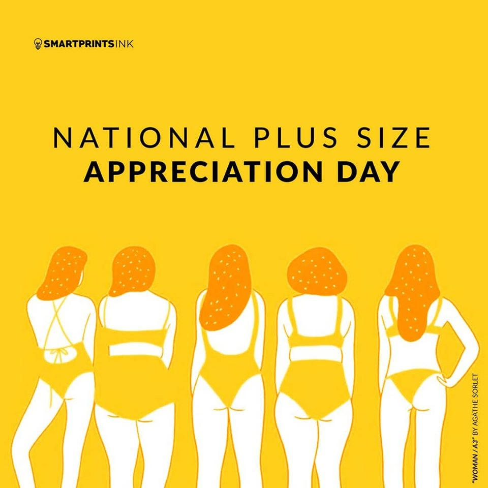 National Plus Size Appreciation Day Wishes Beautiful Image