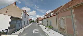 Une rue de saint-Priest-en-Murat.