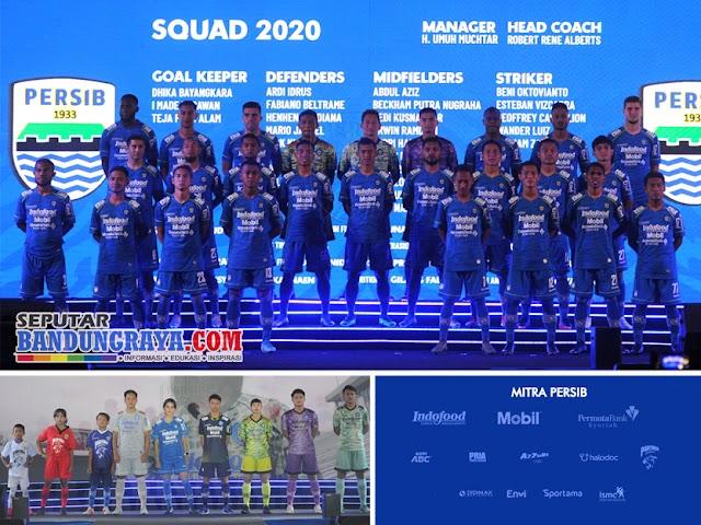 Daftar Sponsor, Jersey, dan Skuad Pemain Persib Liga 1 2020