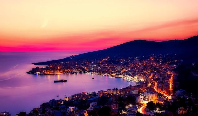 Saranda - miasto w południowej Albanii