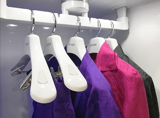Tủ chăm sóc quần áo LG Styler chuyên biệt, loại bỏ nếp nhăn, giữ nguyên form dáng sau khi giặt