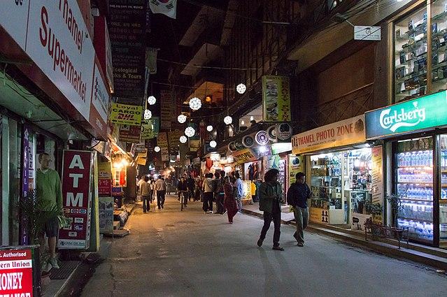 Thamel Street, Kathmandu