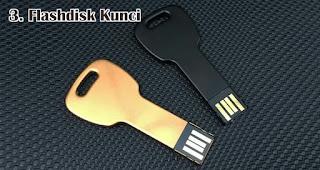 Flashdisk Kunci merupakan salah satu jenis flashdisk unik yang cocok dijadikan souvenir