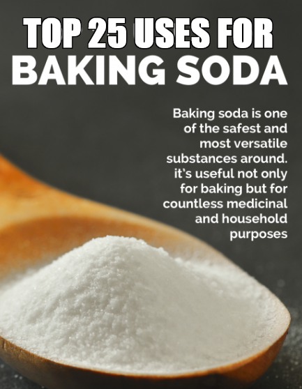 25 Domestic Uses Of Baking Soda