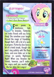 MLP Fluttershy Series 3 Trading Card