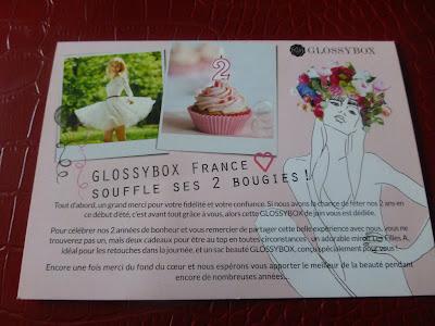 GLOSSYBOX juin 2013
