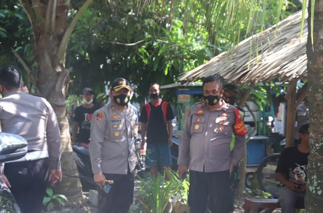 Kapolres Ciamis Melaksanakan Monitoring Pengamanan Kampanye Terbatas Pasangan Calon Bupati dan Wakil Bupati Pangandaran