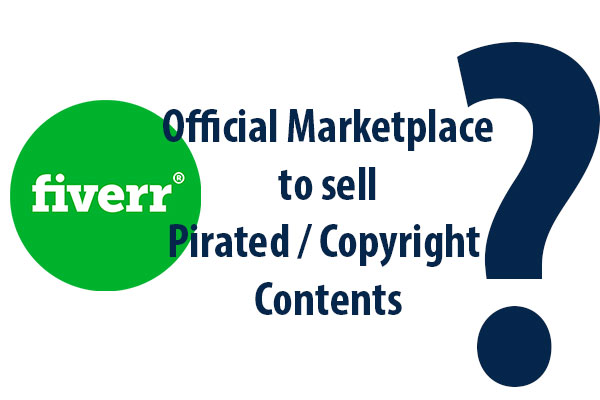 Fiverr Logo Selling Copyright Contents