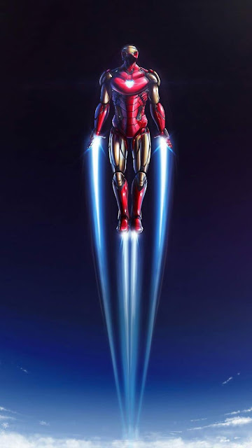Beautiful Iron Man phone wallpaper