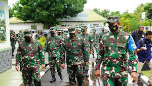 Asops Panglima TNI Nyatakan, Batalyon Infanteri 742/SWY Siap Melaksanakan Tugas Pamtas RI-RDTL.