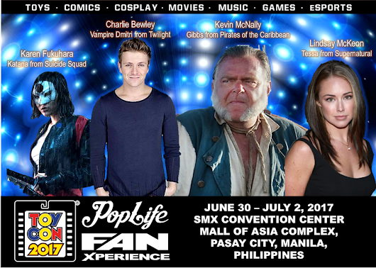 1st wave of TOYCON Philippines 2017 guests announced