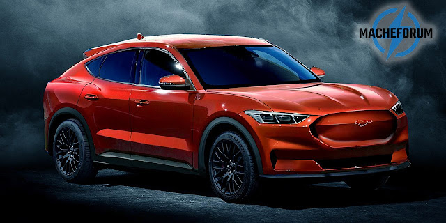 Ford's Mustang Mach-E all-electric SUV revealed in leaked photos, prices and configurations - rictasblog.com