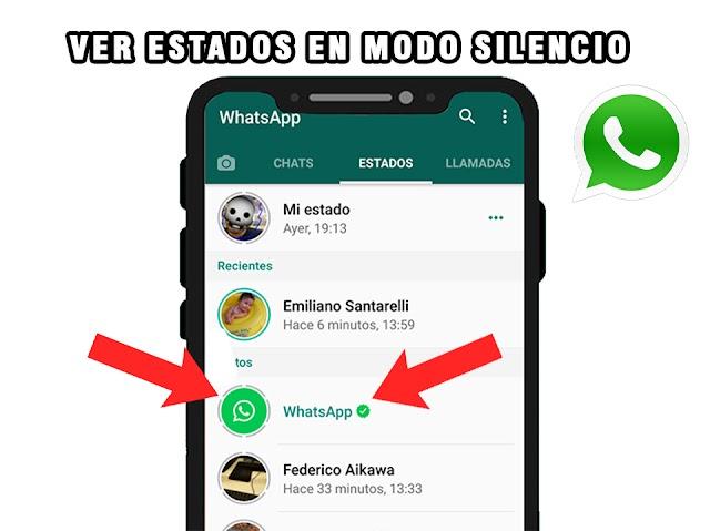 Impresionante forma de ver estados de WhatsApp sin que el otro sepa