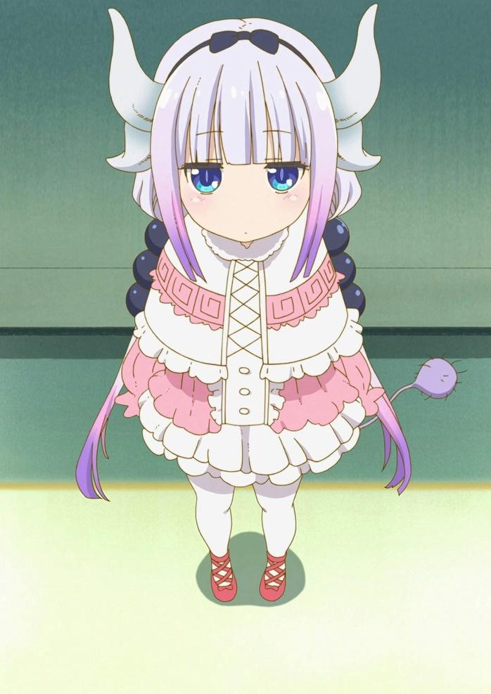 คันนะ คามุย (Kanna Kamui: カンナカムイ) @ Kobayashi-san Chi no Maid Dragon คุณโคบายาชิกับเมดมังกรสุดป่วน