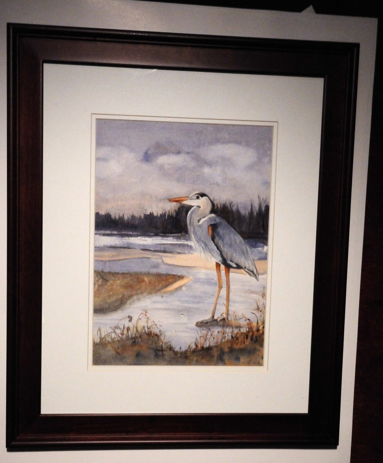 Megan Seagren S Journal How To Frame A Watercolor Painting