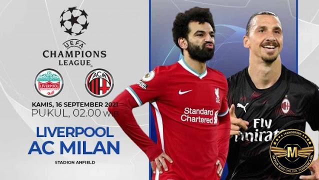 Prediksi Liverpool Vs AC Milan
