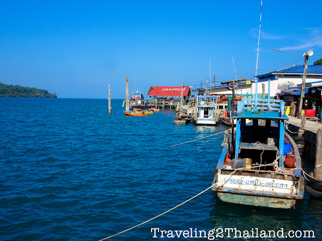 Traveling to Koh Kuud, Thailand