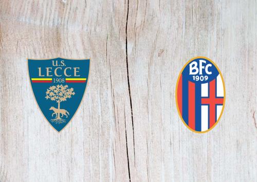 Lecce vs Bologna -Highlights 22 December 2019
