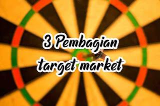 Pembagian jenis jenis dari target market