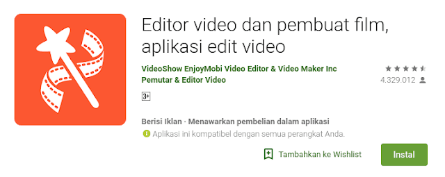 plikasi video editor dan video maker yang nomor satu di berbagai negara banyak sekali fitur yang di unggalkan