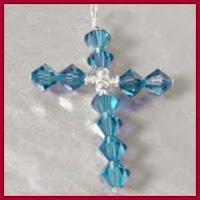 Colgante cruz de Swarovski