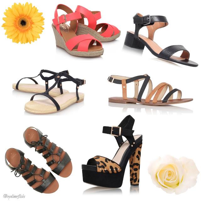 Wishlist: Summer Shoes With House Of Fraser www.eyelinerflicks.com