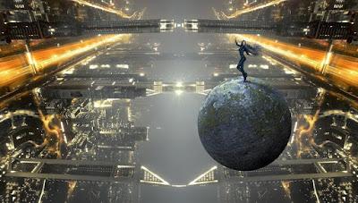 Бен Фулфорд - 19 августа 2019 года - Правительство США страдает от смертельного вируса Эпштейна-Барра Futuristic-City-Public-Domain