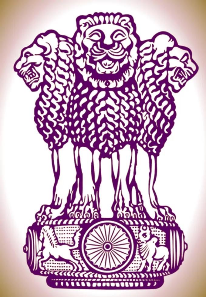India National emblem Ashok stumbh