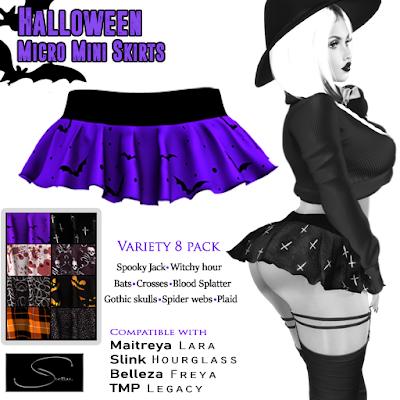 Halloween Micro Skirts at Stellar