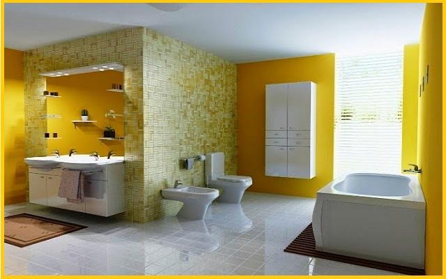bathroom wall painting color ideas