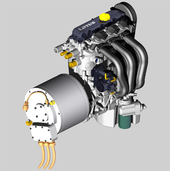 dimension garage fonctionnement moteur hybride. Black Bedroom Furniture Sets. Home Design Ideas