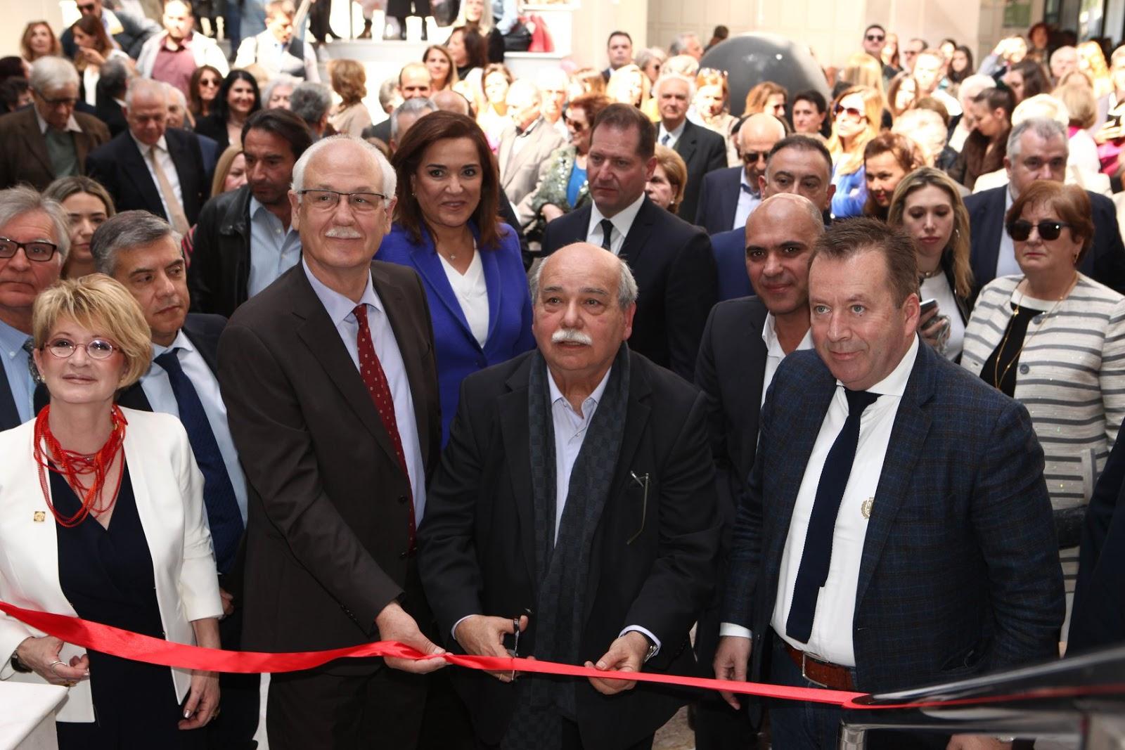 Ο πρόεδρος της Βουλής Νίκος Βούτσης εγκαινίασε τη Μόνιμη Συλλογή Μουσείου Κατσίγρα (ΦΩΤΟ)