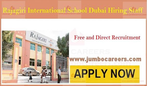 Latest school teachers job openings in UAE, School job opportunities in Dubai,
