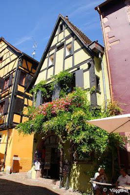 Maison a colombage di Riquewihr