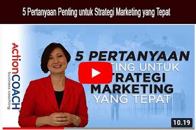Pemasaran – strategi yang tepat | Bagian 2
