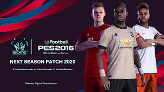PES 2016 Next Season Patch 2020 - Released 30.10.2019