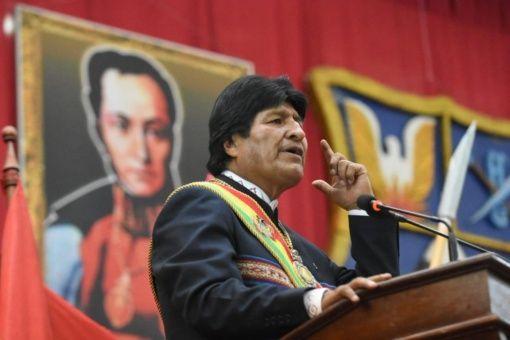 Evo: EE.UU. pretende adueñarse de recursos naturales de Venezuela