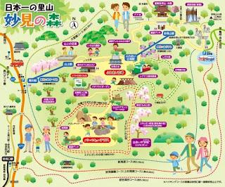 妙見の森マップ