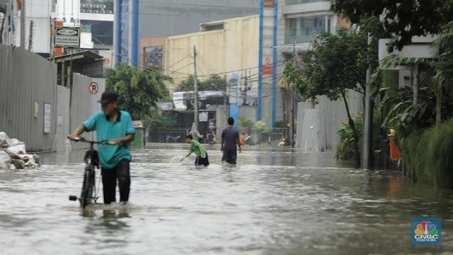 Menteri Basuki Ungkap Penyebab Banjir di Jakarta Hari Ini