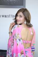Angela Krislinzki Rogue Movie Fame Telugu Actress in Saree Backless Choli 084.JPG