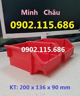 k12 - Khay nhựa xếp chồng, khay đựng bu lông ốc vít, khay đựng linh kiện giá rẻ, khay dụng cụ giá rẻ,