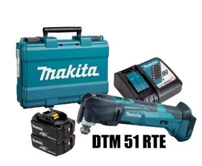 MAKITA MULTI TOOL CORDLESS DTM 51 RTE